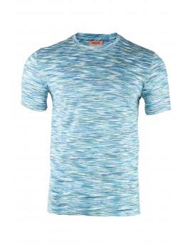 Missoni Rainbow T-shirt Blue