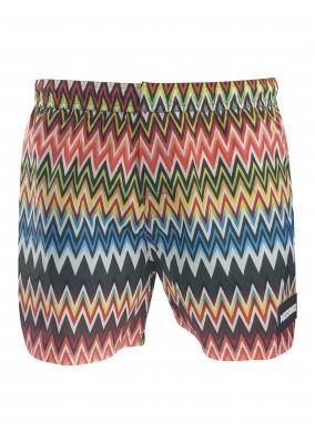 Missoni Zigzag swim shorts multi-colour S406P